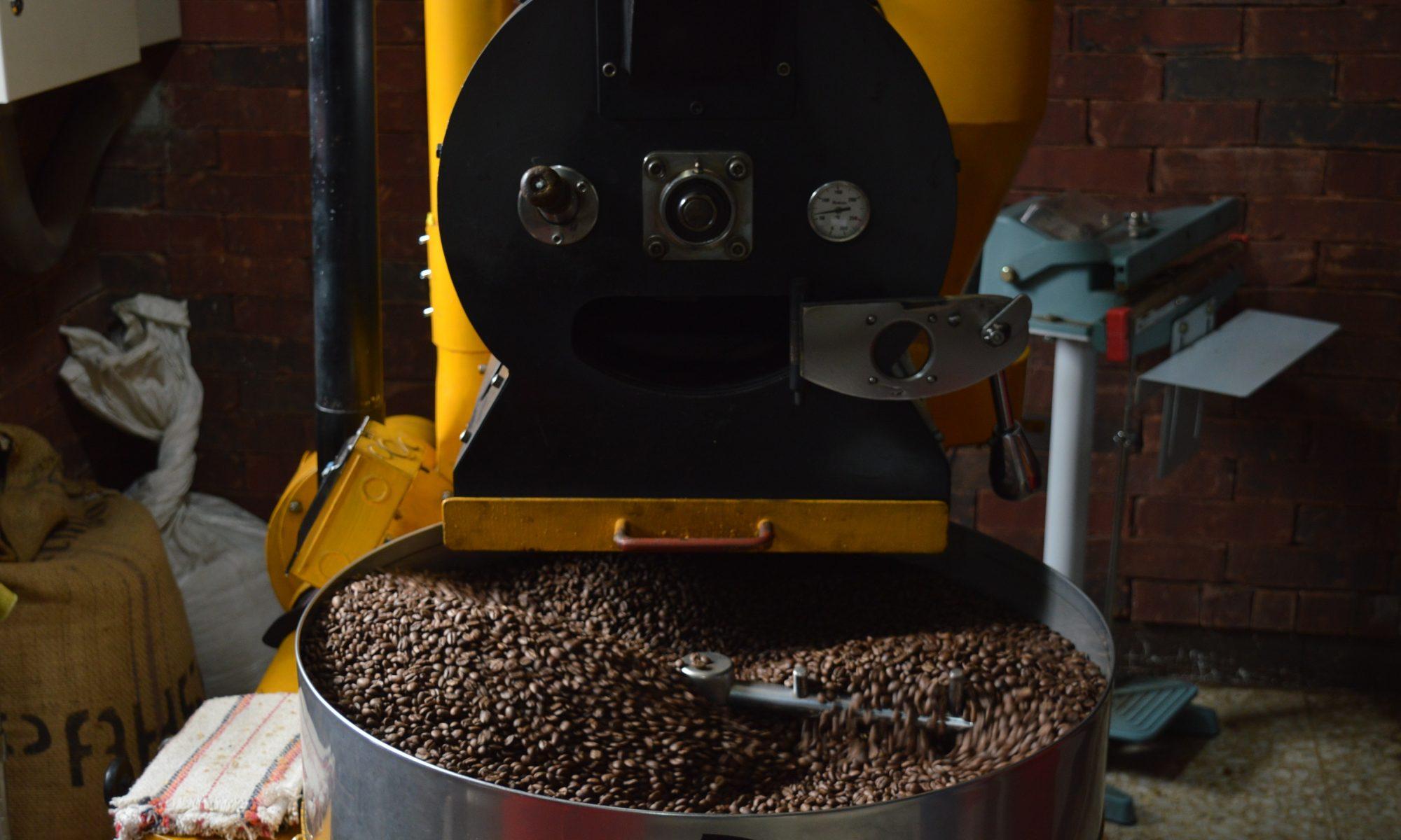 15歳のコーヒー焙煎士